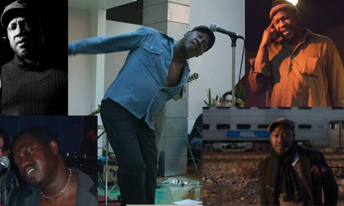 Marvin Tate performing onstage