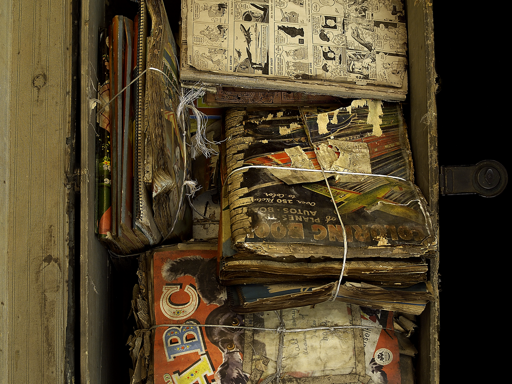 Henry Darger's collected source material