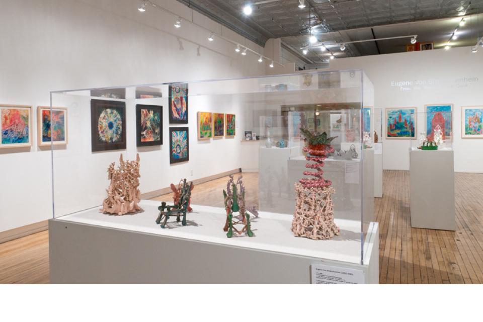 Intuit exhibition, Eugene Von Bruenchenhein