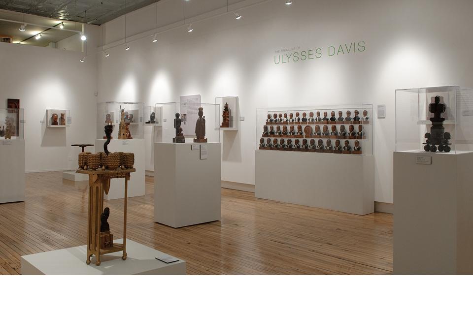 Intuit exhibition, Ulysses Davis