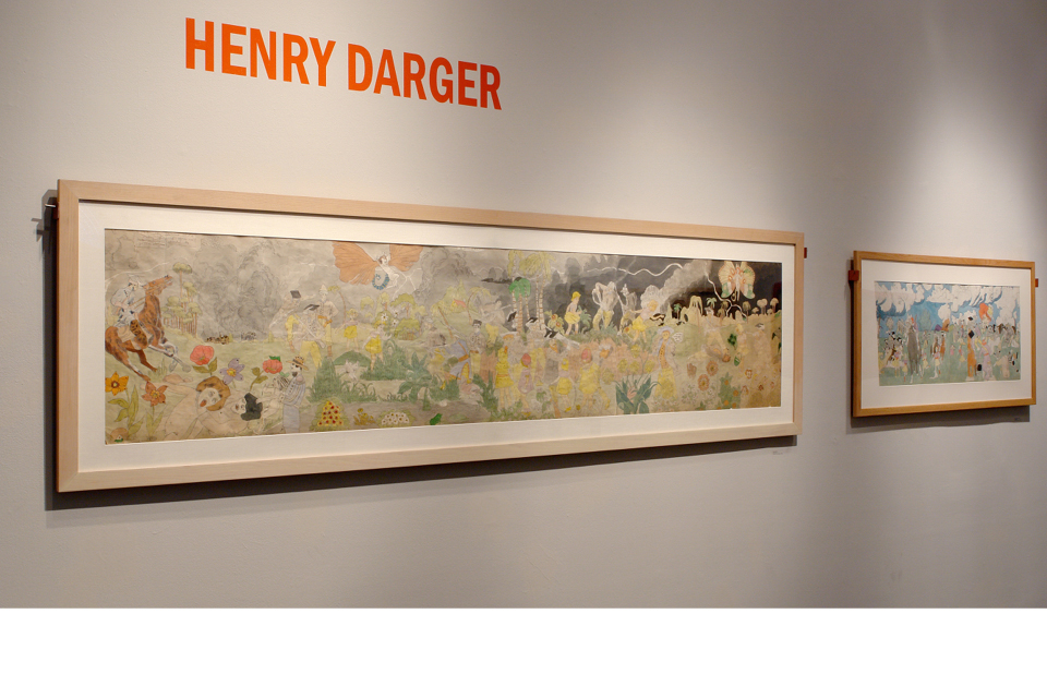 Intuit Exhibition, Henry Darger