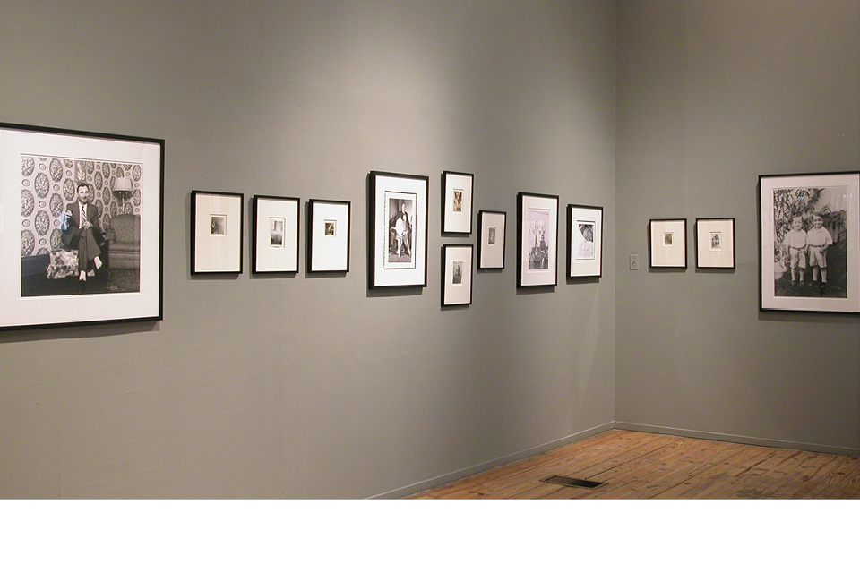 Intuit Exhibition, Lee Godie photographs