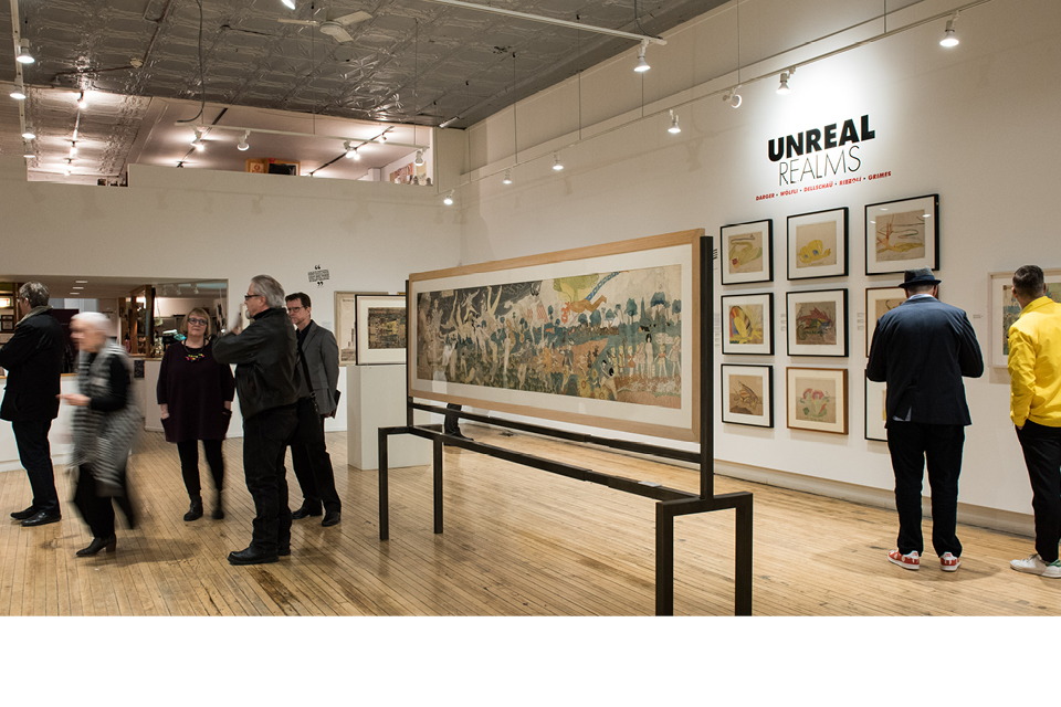 Intuit Exhibition, Henry Darger Unreal Realms