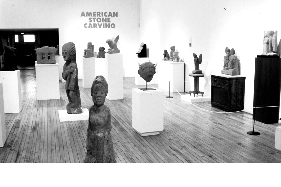 Early Intuit exhibition, American Stone Carving
