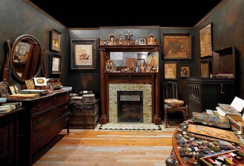 View of Henry Darger's Room