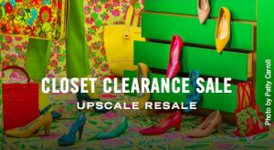 Patty Carroll artwork for Closet Clearance Sale