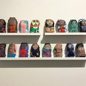 """Examples of """"you"""" doll sculptures"""