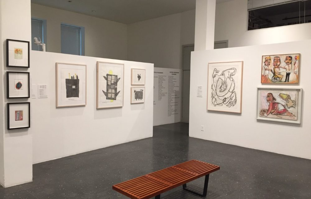 Installation shot with Jim Bloom, Arnold Schmidt and more works
