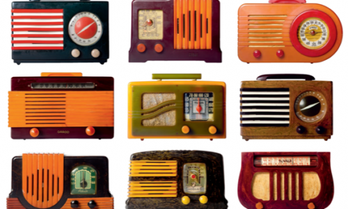 Resin radios