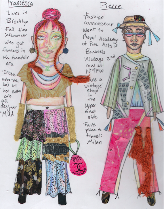 Possum Trot-inspired paper dolls
