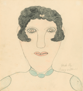 Inez Nathaniel Walker, untitled (portrait of a woman)