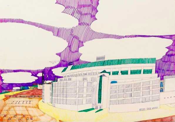 Comiskey Park by Wesley Willis
