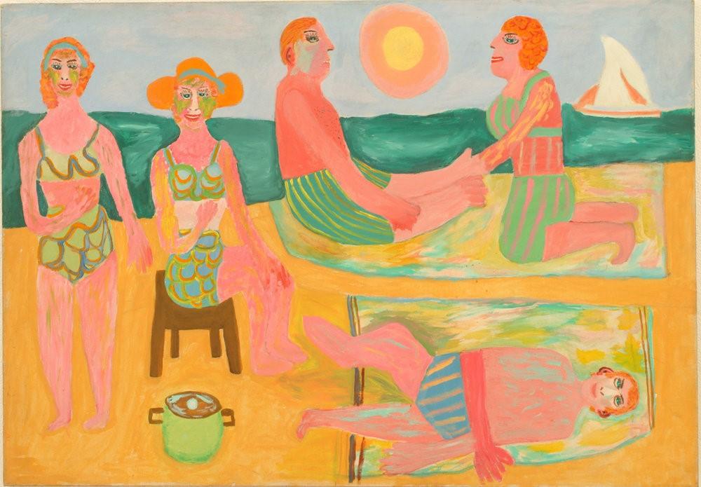 The Ocean by Pauline Simon