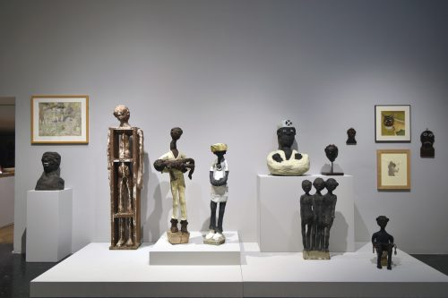 Gallery image of Dr. Charles Smith artwork on display