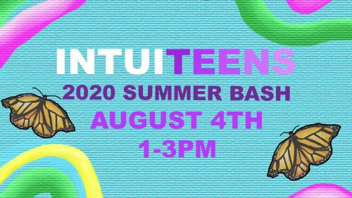 IntuiTeens Summer Bash graphic