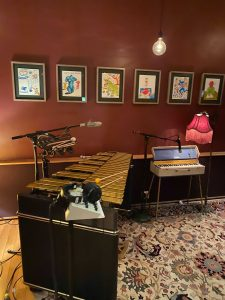 Interior of Electric Lady Studios at the Outsider Art Fair 2021